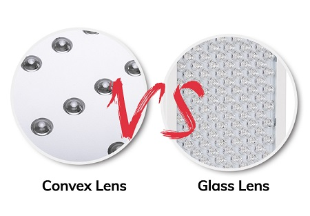 red light therapy devices led lens