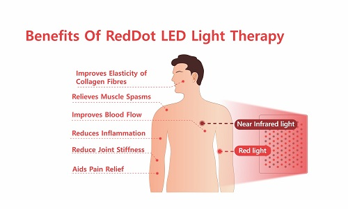 red light therapy health benefits