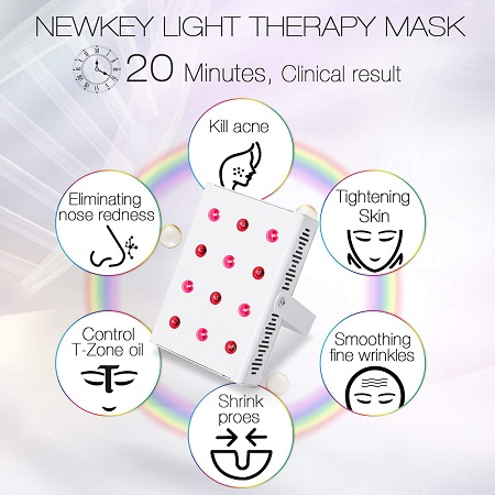 red light treatment for skin care