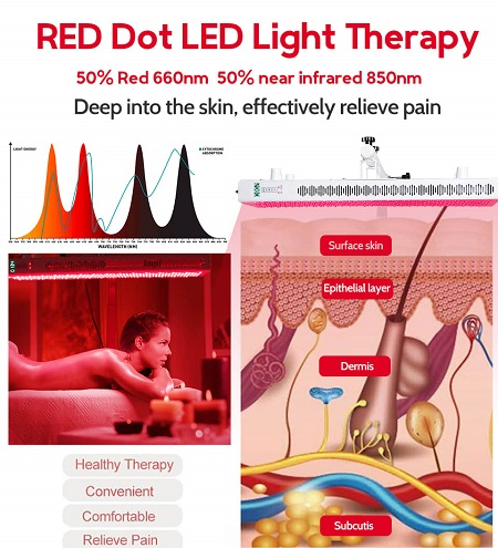 near infrared vs red light therapy