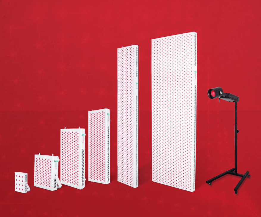 RedDot LED red light therapy lamps