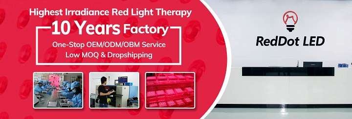 RedDot LED red light therapy factory