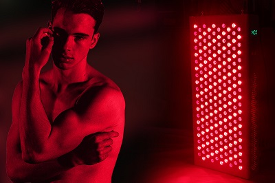 what does red light therapy help with