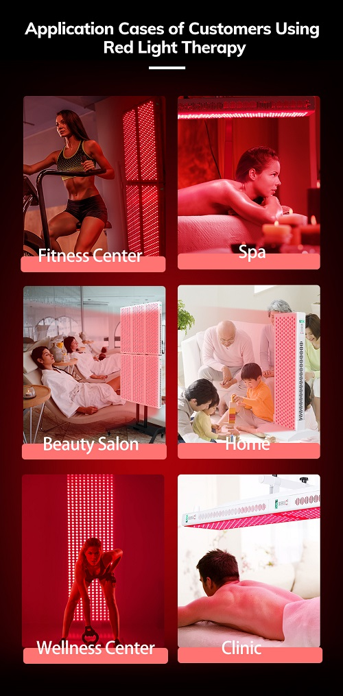 red light therapy market